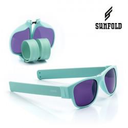 Ochelari de soare pliabili unisex SunFold, PA3, Albastru