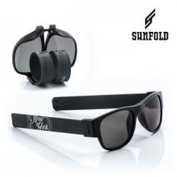 Ochelari de soare pliabili unisex SunFold, ST1, Negru