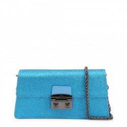 Poseta dama, Trussardi, CORIANDOLO_75B00554-97U613, Albastru