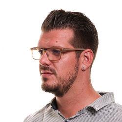 Rame ochelari, barbati, Hackett London, HEB209 54187, Maro