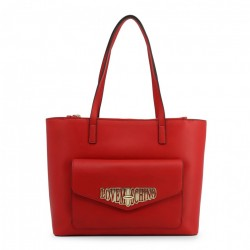 Geantă shopper, dama, Love Moschino, JC4053PP18LF_0500, Rosu