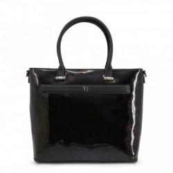 Geanta shopper, dama, Trussardi, PAPRICA_75B00558-99M250, Negru