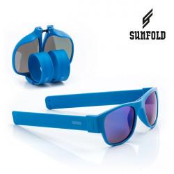 Ochelari de soare pliabili unisex SunFold, ES5, Albastru