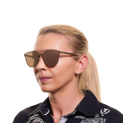 Ochelari de soare, unisex, Web, WE0190 0034G, Bronz