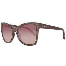 Ochelari de soare, dama, Swarovski, SK0109 5648F, Maro