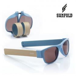 Ochelari de soare pliabili unisex SunFold, AC5, Albastru