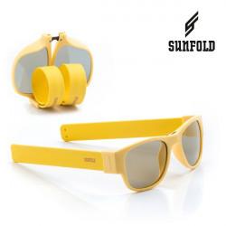 Ochelari de soare pliabili unisex SunFold, PA5, Galben