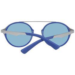 Ochelari de soare, unisex, Web, WE0147 4917X, Albastru