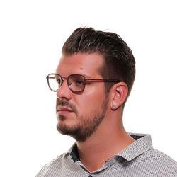 Rame ochelari, barbati, Diesel, DL5271 46067, Rosu