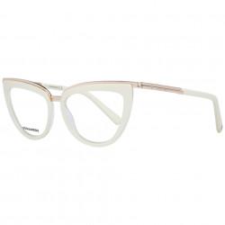 Rame ochelari, dama, Dsquared2, DQ5238 50025, Crem