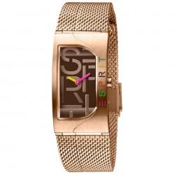 Ceas de dama, Esprit, ES1L046M0065, Auriu roze