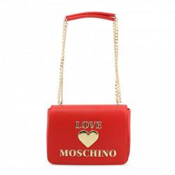 Geanta de umar, dama, Love Moschino, JC4035PP1BLE, Rosu