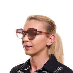 Ochelari de soare, dama, Diesel, DL0258 0072U, Auriu Roze