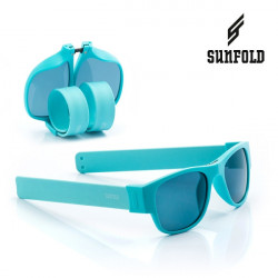 Ochelari de soare pliabili unisex SunFold, PA4, Albastru