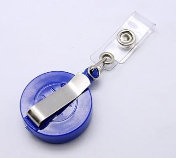 Accesoriu ecuson personalizat cu mandala albastra