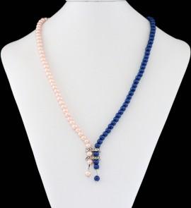 Colier perle duo color M2