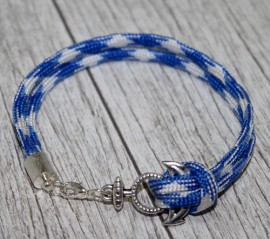 Bratara nautica bleu