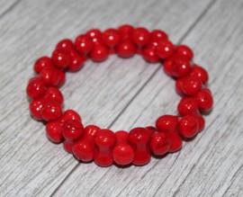 """Bratara """"Red femininity"""""""