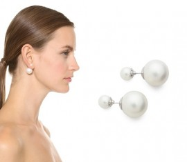 """Cercei """"Double pearl""""(M2) - ivory"""
