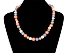 Colier perle colorate