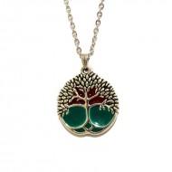 "Colier pandantiv rasina ""Tree of love life"""
