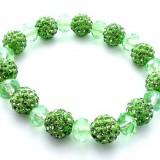 Bratara Shamballa verde