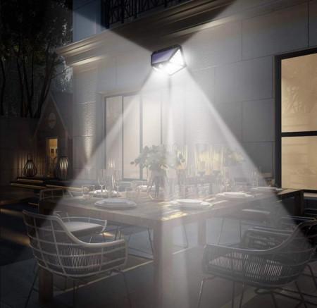 SET 4 LAMPI SOLARE 100 LED