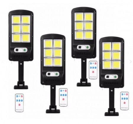 SET 4 LAMPI TIP STRADAL 30W - TELECOMANDA + SENZOR MISCARE