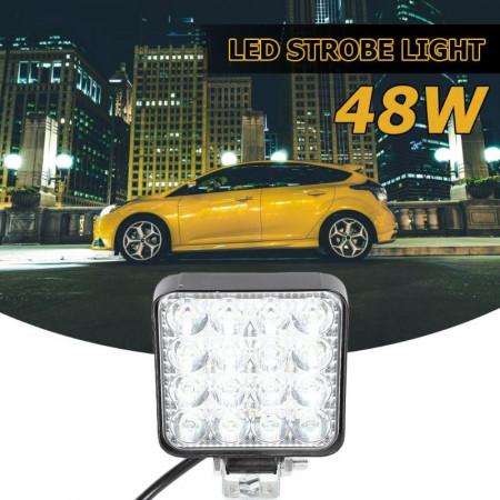 SET 4 PROIECTOR LED AUTO 48W