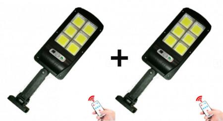 SET 2 LAMPI TIP STRADAL 30W - TELECOMANDA + SENZOR MISCARE