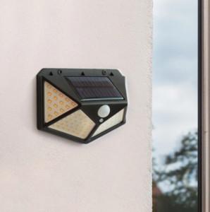 SET 6 LAMPI SOLARE 100 LED SI SENZOR MISCARE