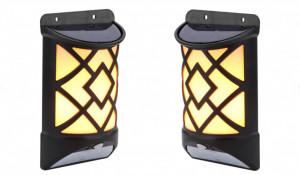 SET 2 LAMPI SOLARE EFECT FLACARA