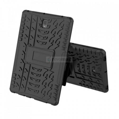 Husa Hybrid Armor Samsung Galaxy Tab S4 10.5 inch cu Stand