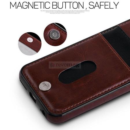Husa Piele tip Portofel pt. iPhone 7 / 8+ Plus 5.5 inch