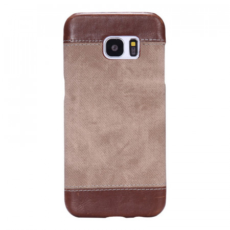 Husa Samsung Galaxy S8 G950 Jeans Pattern - Brown