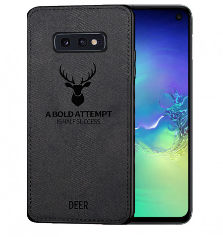 Husa Samsung Galaxy S10e Soft TPU - Deer Head Art