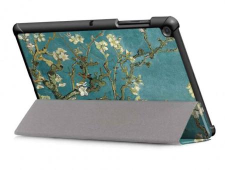Husa Premium Book Cover SLIM Huawei MediaPad T5 10.1 inch 2018 - Blossom