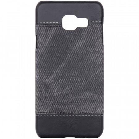 Husa Samsung Galaxy A3 2017 A320 Jeans Pattern - Black