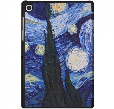 Husa Premium Book Cover Slim Samsung Tab A7 10.4 inch 2020 SM-T500 / T505 - Starry Night