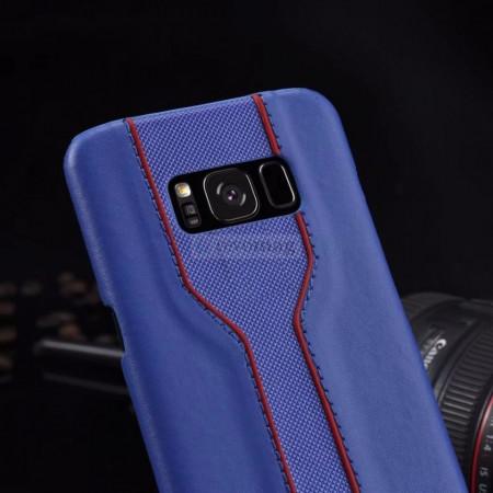Husa Samsung Galaxy S8 G950F, Racing Back Cover, Piele