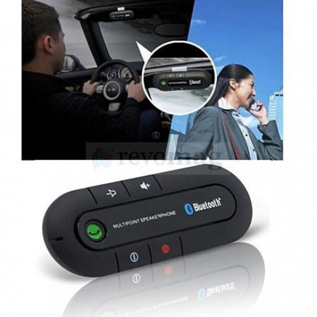 Kit Bluetooth Handsfree Auto MultiPoint cu Speaker