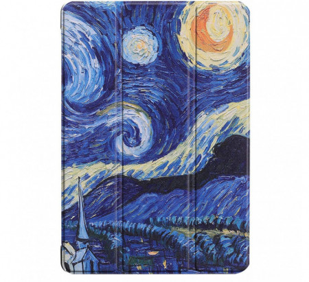 Husa Premium Book Cover Slim Samsung Tab A7 10.4 inch 2020 SM-T500 / T505 - Starry Night