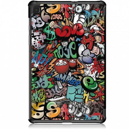 Husa Ultra Slim Samsung Tab S6 Lite 10.4 inch SM-P610 / P615 (2020) - Graffiti