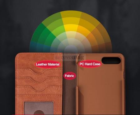 Husa Luxury Flip pt. Apple iPhone 8 / 7 4.7 inch cu Stand
