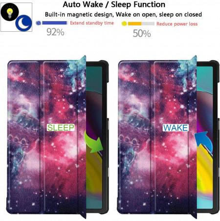 Husa Premium Book Cover SLIM Huawei MediaPad T5 10.1 inch 2018 - Galaxy