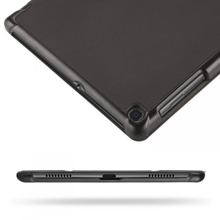 Husa Premium Book Cover Slim Samsung Tab A 10.1 inch 2019 T510 T515 - Black