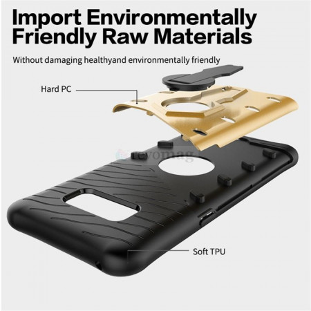 Husa Sniper Armor Samsung Galaxy S8 Plus, Stand Rotativ