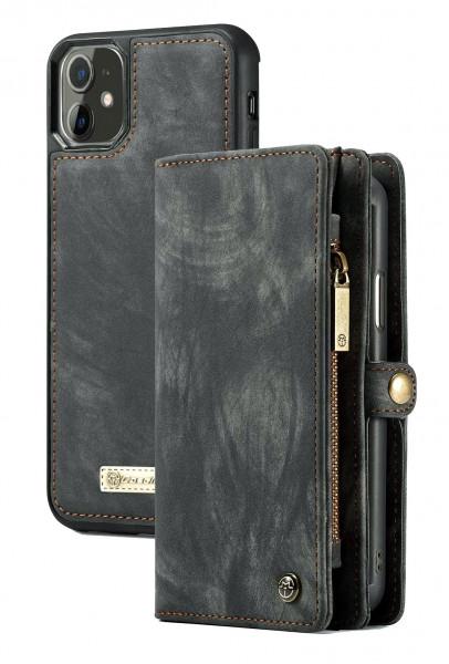 Husa Wallet Apple iPhone 11 - Tip Portofel cu Atasare Magnetica