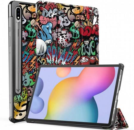 Husa Ultra Slim Samsung Galaxy Tab S7+ Plus 12.4 (2020) - Graffiti