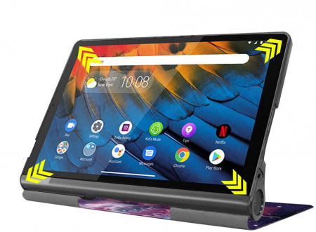 Husa Ultra Slim LENOVO Yoga Smart Tab, 10.1 inch YT-X705 - Galaxy